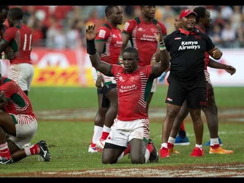 HIGHLIGHTS! Kenya stun Fiji to win Singapore Sevens!