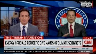Trump Adviser Compares Climate Science To Flat Earth Theory