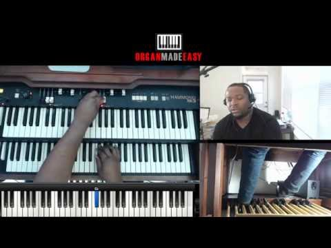 LIVE Gospel Organ Masterclass #3 - Soloing techniques, Hymns