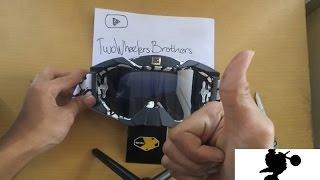Unboxing Goggle (Kacamata MotoCross) SNAIL MX 36   TwoWheelersBrothers