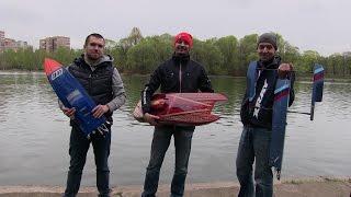Лодки на радиоуправлении новый сезон 2015/Boats on the radio-control the new season 2015(Открыли свой сезон 2015 Радиоуправляемых лодок на прудах парка