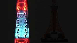 東京のシンボル「東京タワー」を現在の姿の「1/500スケール」(約66.6cm...