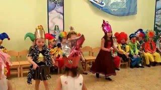"""Новогодний танец хлопушек под песню """"Замела метелица город мой"""""""