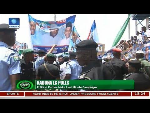 Political Parties In Kaduna Make Last Minute Campaigns   News Across Nigeria  