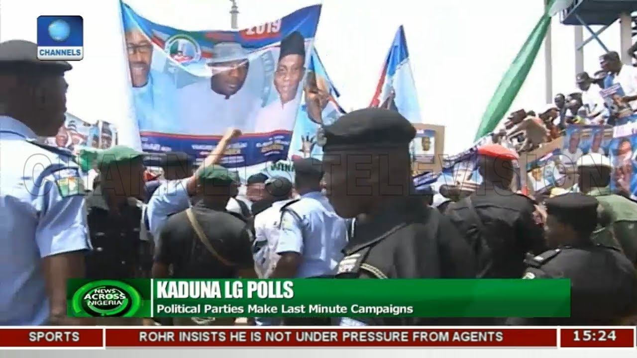 Political Parties In Kaduna Make Last Minute Campaigns | News Across Nigeria |