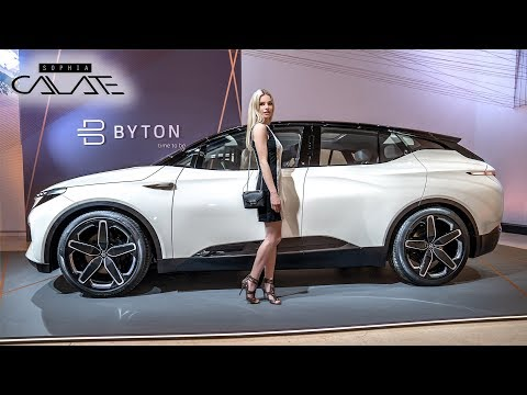Byton Concept - Kann Tesla einpacken?