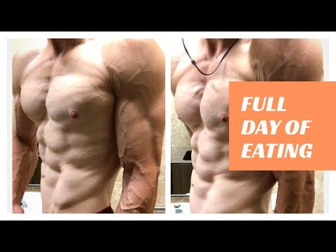 Crohn's Disease: Refeed - Full Day of Eating - Professional Bodybuilder