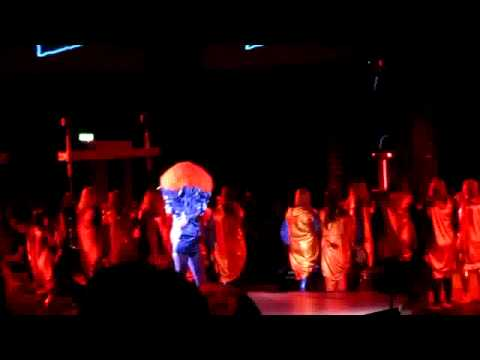 Björk - Biophilia project with tesla coils (Live at MIF).avi