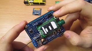 GSM\GPRS шилд на протошилде или еще раз про подключение M590(Про самодельный GSM\GPRS шилд с модемом Neoway M590 //даташит на модем ..., 2016-02-01T18:53:23.000Z)