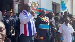 Le président Félix Tshisekedi est arrivé à Béni.