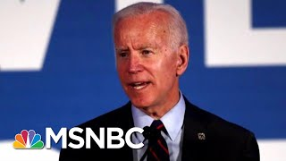 Joe Biden Defends His Past Working With Segregationists In Congress | Velshi & Ruhle | MSNBC