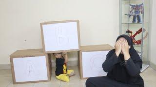 Main Petak Umpet Mystery Box ! Tebak Azufi Ada di Dalam Kotak Yang Mana ?