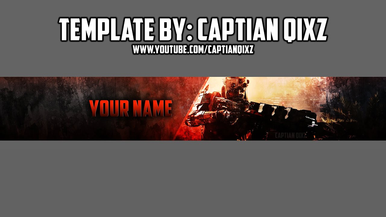 Free bo3 youtube channel art photoshop speedart download youtube pronofoot35fo Images