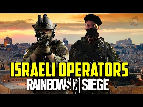 Rainbow Six Siege Israeli Operators Itur & Eslot Special Forces IDF Israel Kele 0-6 Map Fan made