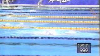 シドニーオリンピック 競泳女子メドレーリレー 田中雅美 検索動画 8