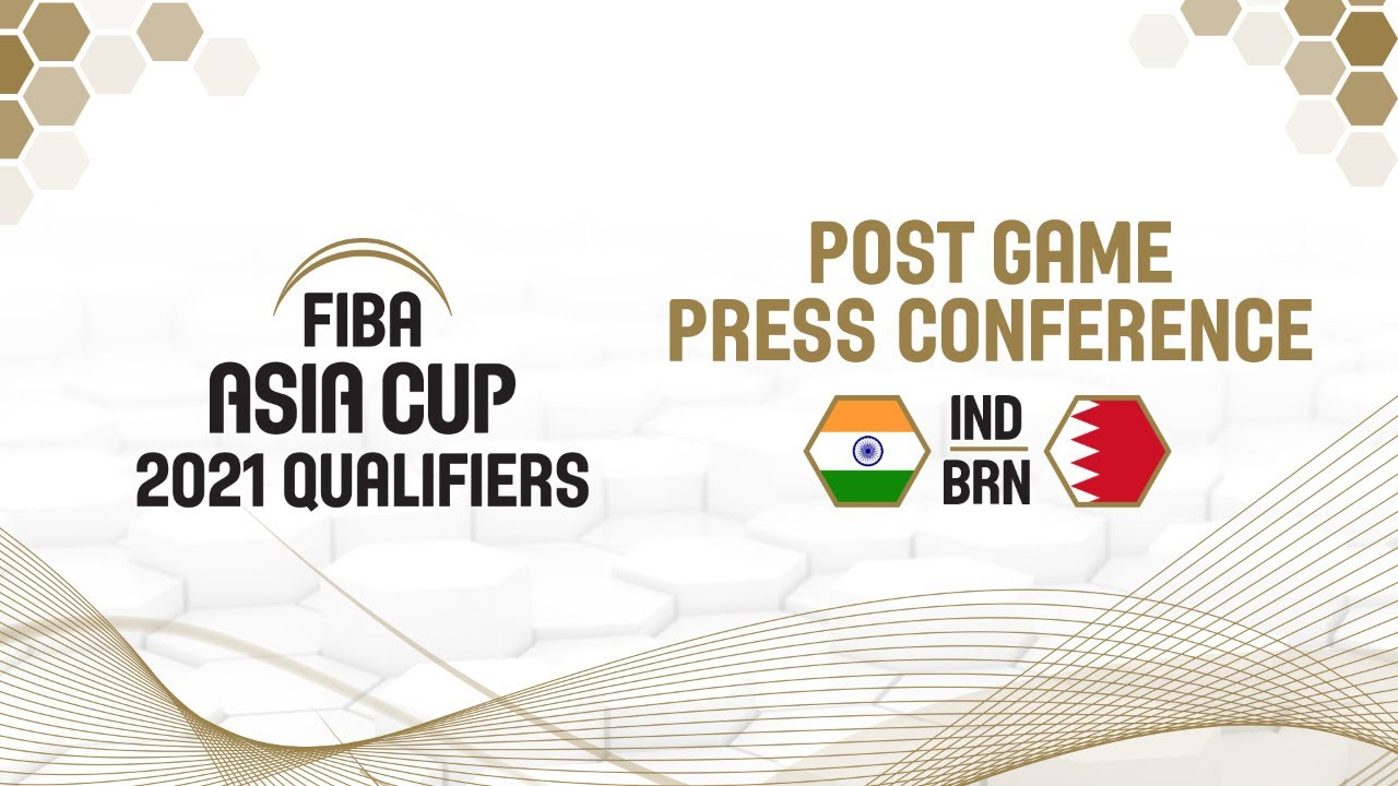 India v Bahrain - Press Conference
