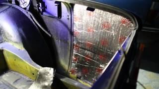 видео обесшумить багажник ваз 2101