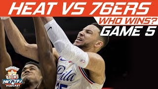 Miami Heat vs Philadelphia Sixers | Game 5 | Who will win ? | Hoops N Brews