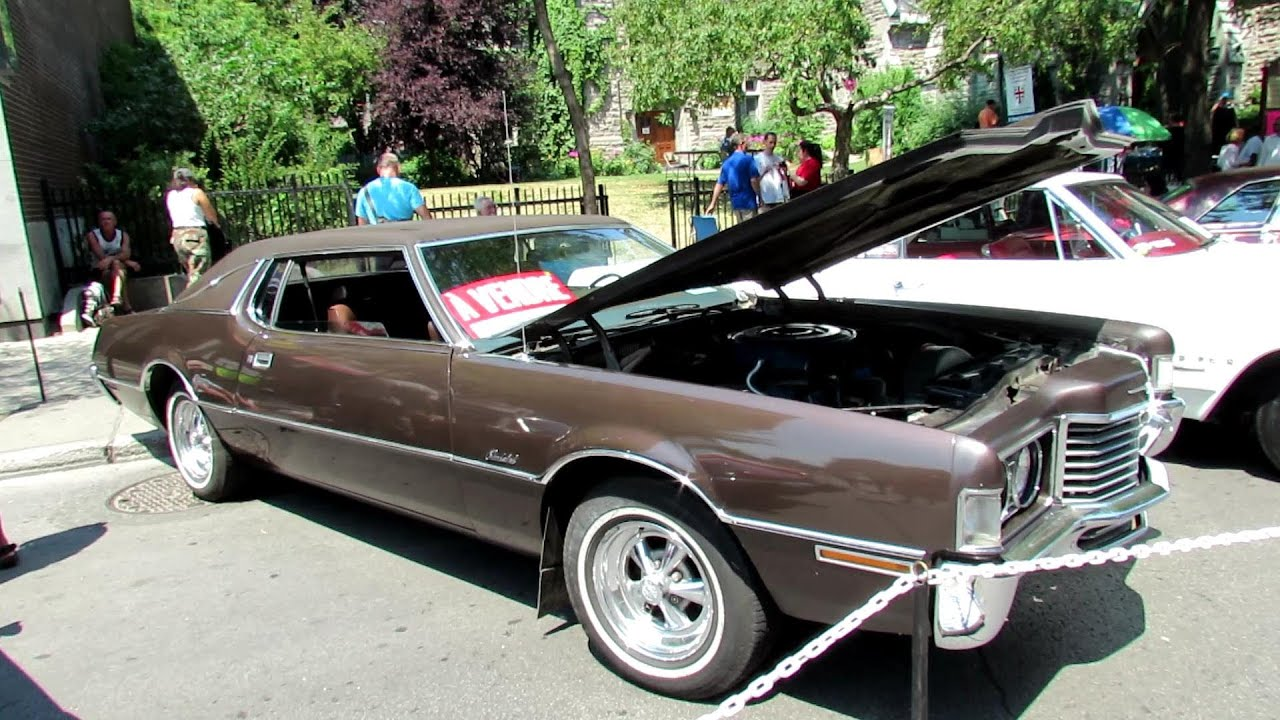 1972 Ford Thunderbird Coupe Exterior And Interior