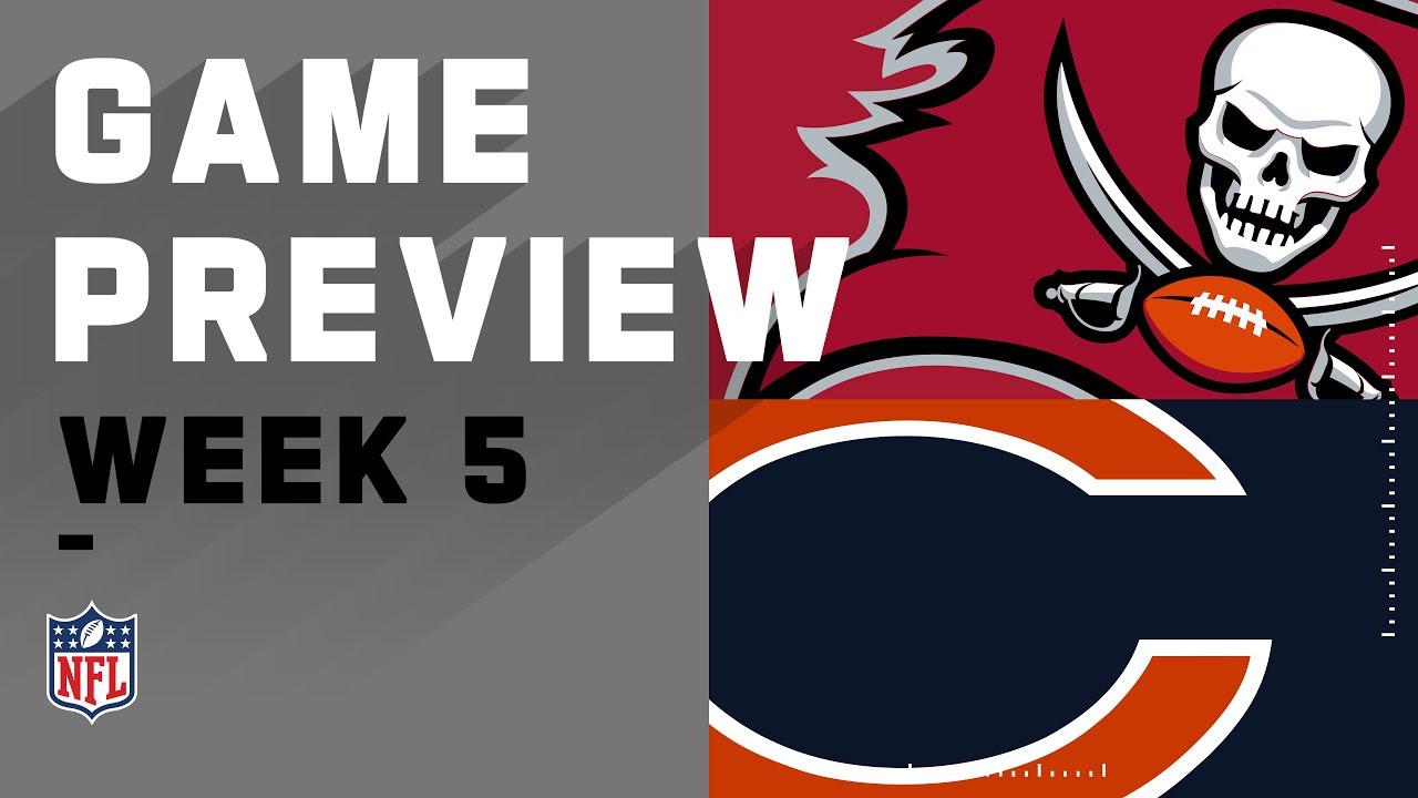 tampa bay buccaneers vs chicago bears nfl week 5 game preview youtube tampa bay buccaneers vs chicago bears nfl week 5 game preview