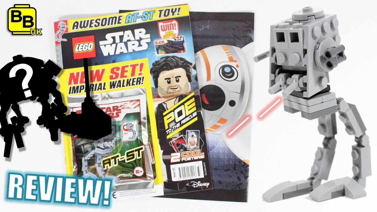 New At St Walker Lego Star Wars Magazine Review Issue 37