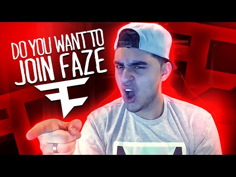Do You Want To Join Faze