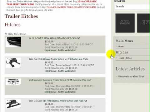 My eBay Script - Adding eBay Items