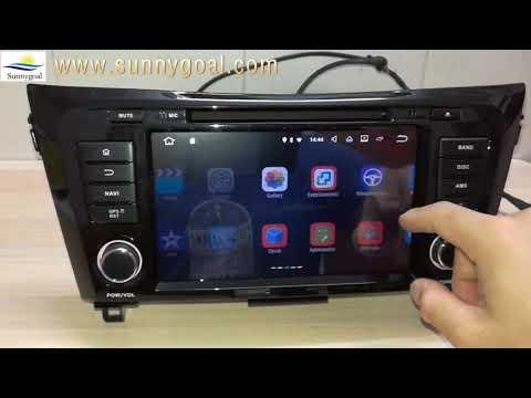 Sunnygoal: Android 7.1 OS Auto DVD Spieler Für Nissan QashQai/X-Trail(2014-2018)