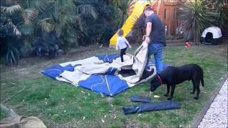 oztrail tourer 9 tent packdown