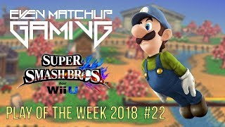 Video EMG Smash 4 Play of the Week 2018 - Episode 22 (SSB4, Super Smash Bros Wii U) download MP3, 3GP, MP4, WEBM, AVI, FLV Juli 2018