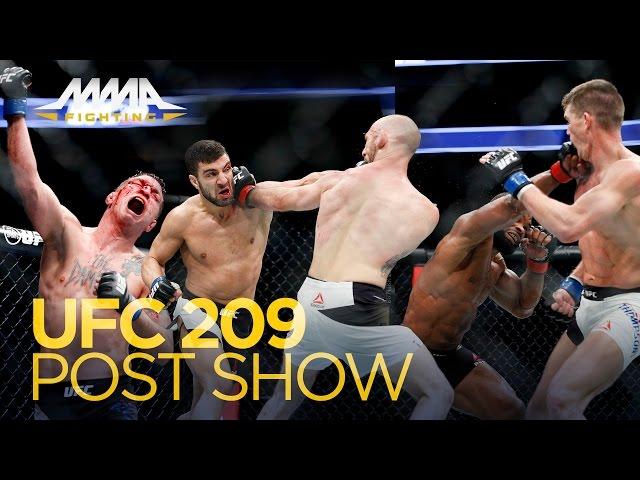 UFC 209 Post-Fight Show