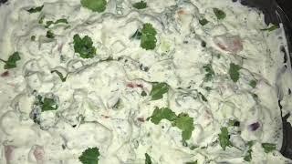 Yogurt Raita salad 🥗