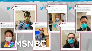 Health Care Workers On Their Own Against Coronavirus As Supplies Dwindle | Rachel Maddow | MSNBC