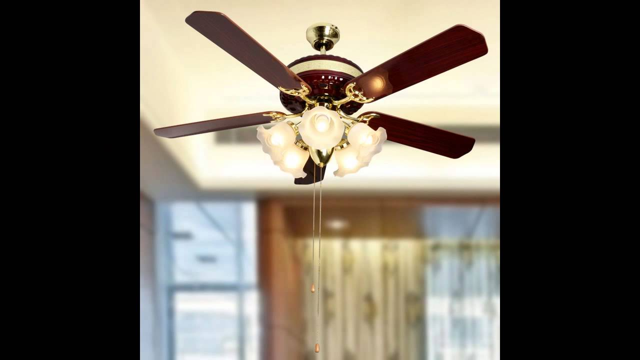 Ceiling Fans with Lights for Living Room - Ceiling Fans With Lights For Living Room - YouTube