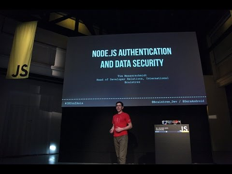 Node JS Authentication and Data Security