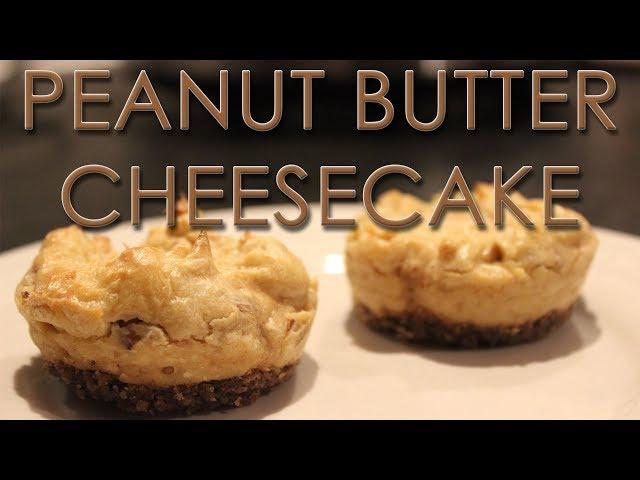 KETO Peanut Butter Cheesecake Cupcakes
