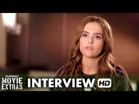 Dirty Grandpa (2016) Behind the Scenes Movie Interview - Zoey Deutch is 'Shadia'