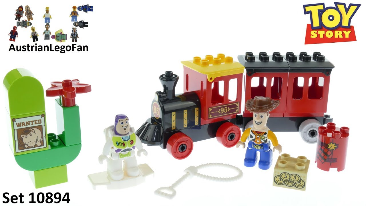 LEGO DUPLO Toy Story 4 Train Toy for Toddler 10894