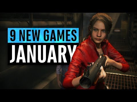 9 New Games Arriving in January 2019 Mp3