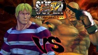 SSFIV AE - Sasaki (Cody) vs AFG (Sagat) 'Online Matches' ᴴᴰ thumbnail