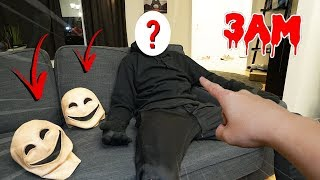 WE FINALLY UNMASKED SMILEY MONSTER FOR REAL AT 3 AM!! (YOU WON'T BELIEVE THIS)
