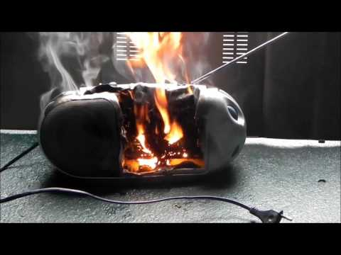 Rozwalanie radia Thomson + bonus/ smashing chinese radio