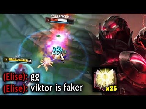 *10 CS PER MIN* #1 VIKTOR SHOWS YOU HOW TO PLAY PERFECTLY IN SEASON 10! - League Of Legends