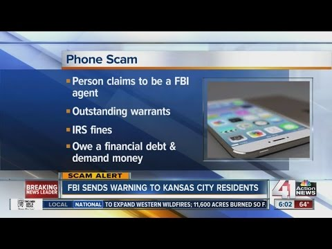 FBI issues warning about phone scam hitting the Kansas City metro area