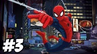 Ultimate Spider-Man Walkthrough | Rhino Boss Fight  | Part 3 (Xbox/PS2/Gamecube/PC)