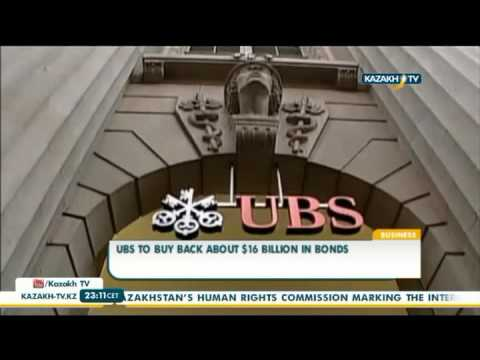 UBS to buy back about $16 billion in bonds - Kazakh TV