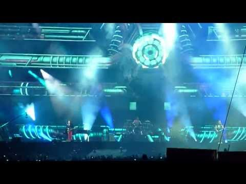 MUSE * United States of Eurasia + Map of the Problematique * live @ Barcelona 2013