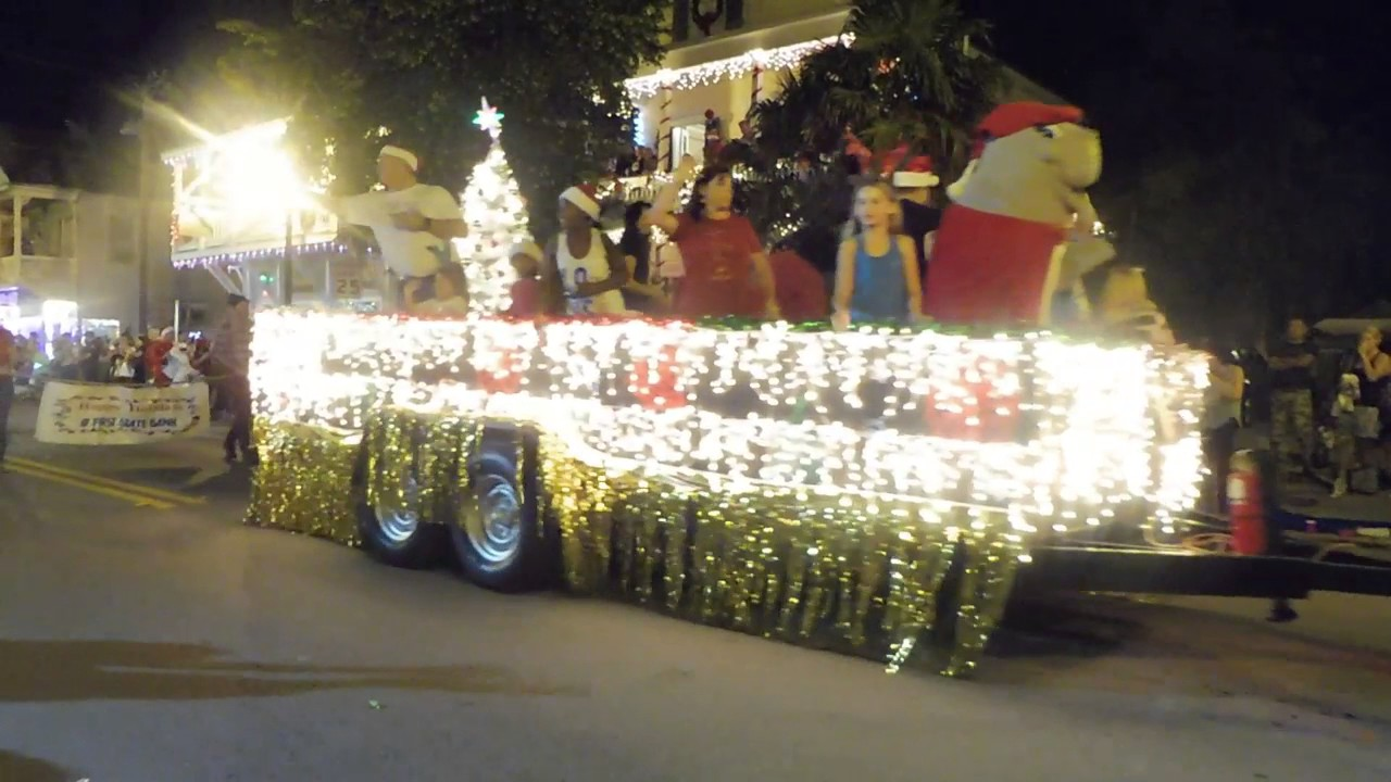 Key West Christmas Parade - YouTube