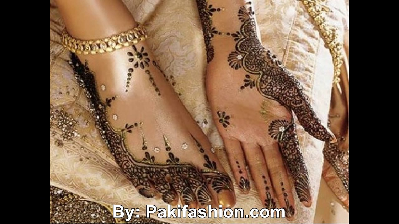 Amato Traditional Mehndi Designs Book 2016 - YouTube YV87