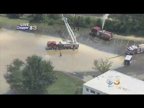 Rowan University Students Forced Out Of Dorm Due To Flooding From Storm